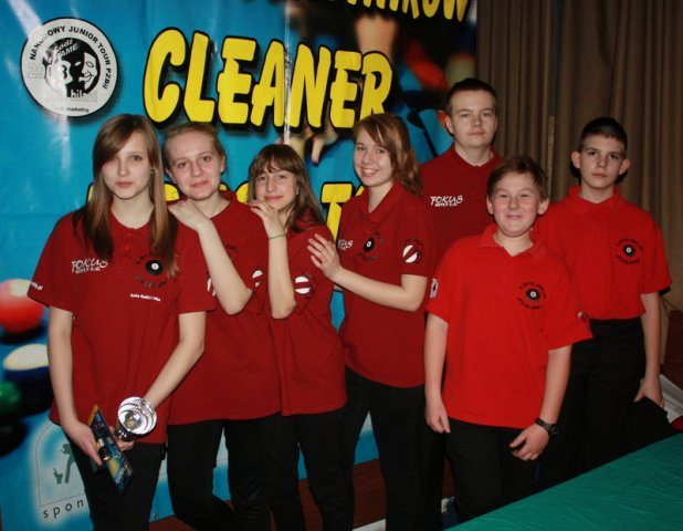 Sukces na Cleaner Junior Tour w Łodzi